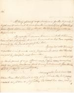 Letter from John Dickinson to Jasper Yates