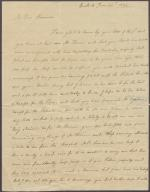 Letter from Mary Nisbet to Alexander Turnbull