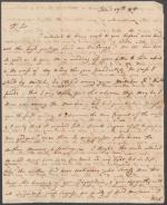 Letters from Wilhelmina Nisbet to Charles Nisbet