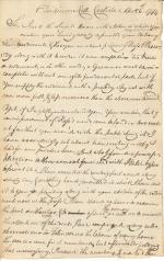 Letter from James Ross to William Young