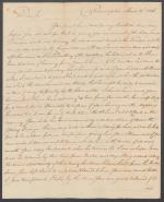 Letter from William Turnbull to Alexander Nisbet