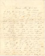Letters from John Cuddy (May - Jun. 1862)