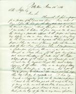 Letters from William Mintzer to Eli Slifer