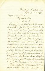 Letter from Henry Maxwell to James Veech