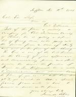 Letters from James Sellers to Eli Slifer