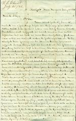 Letters from Theodore Christ to Eli Slifer