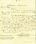 Letter from William Wagenseller and P. R. Wagenseller to Eli Slifer