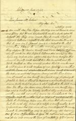 Letter from Israel Gutelius to James Sellers