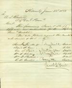 Memorandum from Jacob Frick to A. L. Russell