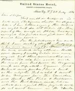Letters from Andrew Curtin to Eli Slifer, 1864-66