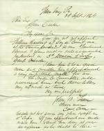 Letters from John Linn to Eli Slifer