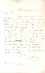 Letters from Alexander McClure to Andrew Curtin