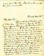 Letters from William Meredith to Eli Slifer