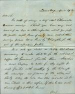 Letters from Oliver Worden to Eli Slifer
