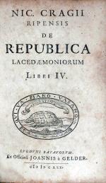 De Republica Lacedaemoniorum Libri IV
