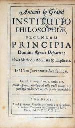 Instutio Philosophiae, Secundum Principia Domini Renati Descartes: .Explicata