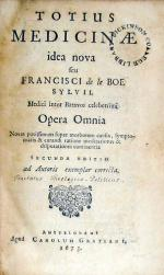 Totius Medicinae idea nova.Opera Omnia