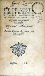 De Praestigiis et Incantationibvs Daemonvm...