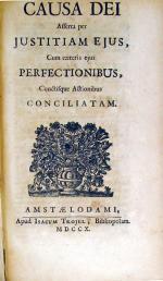 Essais De Theodicée….Seconde Edition