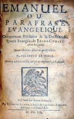 Emanuel, Ou Parafrase Evangelique..Poeme Chrêtien,.Derniere Edition
