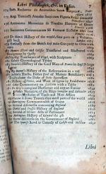 Libri Philologici, Historici & Theologici, Graeci, Latini & Anglici