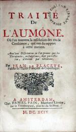 Traité De L'Aumône..Avec une Dissertation où l'on prouve que...