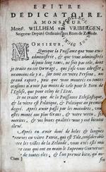 La Puissance Eclesiastique Bornée à l'Écriture & par Elle