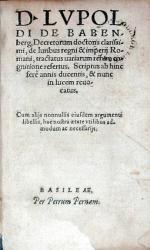 De Iuribus regni & imperij Romani, tractatus uariarum rerum cognitione refertus