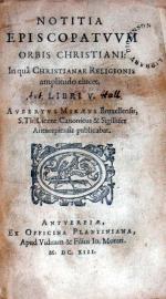 Notitia Episcopatvvm Orbis Christiani: In quâ Christianae Religionis...