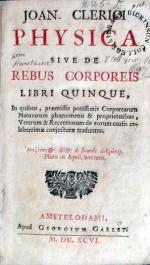 Physica Sive De Rebus Corporeis Libri Quinque