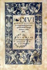 Quaestionum Euangeliorum (Vol. I)