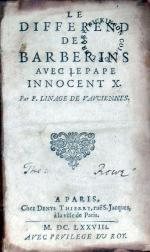 Le Differend Des Barberins Avec Le Pape Innocent X