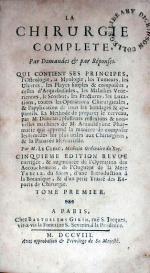 La Chirurgie Complete, Par Demandes & par Réponses (II)