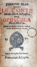 Opuscula Nova Medica