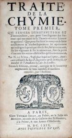 Traité De La Chymie