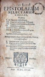 Epistolarum Selectarum Chilias..Epistolica Institutio