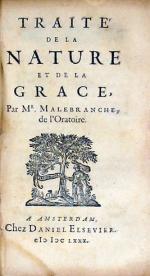 Traité De La Nature Et De La Grace