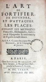 L'Art De Fortifier, De Defendre, Et D'Attaquer Les Places...