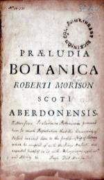 Hortus Regius Blesensis Auctus, Cum Notulis durationis & Charactismis...