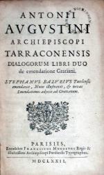 Dialogorum Libri Duo de emendatione Gratiani