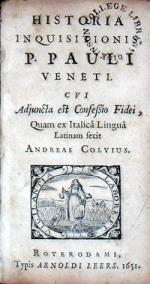 Historia Inquisitionis, …Cvi Adjuncta est Confessio Fidei
