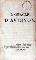 L'Oracle D'Avignon