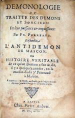 Demonologie Ov Traitte Des Demons Et Sorciers...