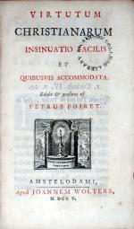 Virtutum Christianarum Insinuatio Facilis Et Quibusvis Accommodata