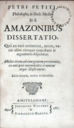 De Amazonibus Dissertatio