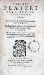 De Febribvs Liber: Genera, causas, & curationes febrium...