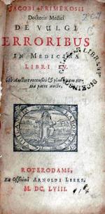 De Vulgi Erroribus In Medicinâ
