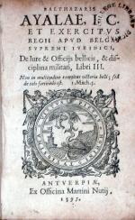 De Iure & Officijs bellicis, & disciplina militari