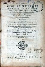 Elizabethae, Angliae Reginae Haeresin Calvinianam Propvgnantis...