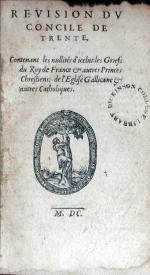 Revision Dv Concile De Trente